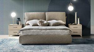 Venus bed, Modern upholstered bed