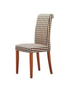299, Chair with straight back, for contract use