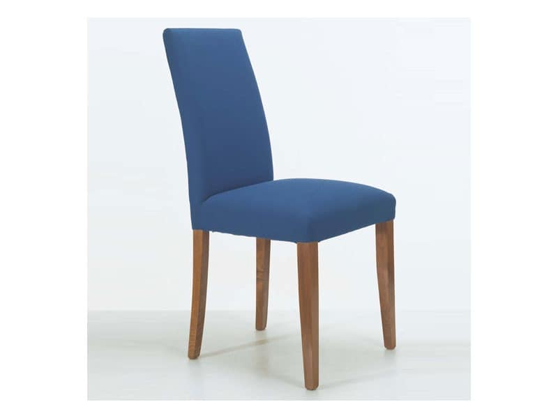 300, Upholstered wooden chair, for naval furnishing
