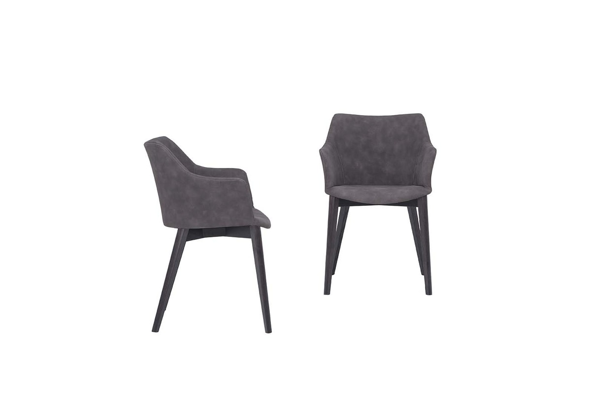 AGATA, Chair with wooden or metal structure