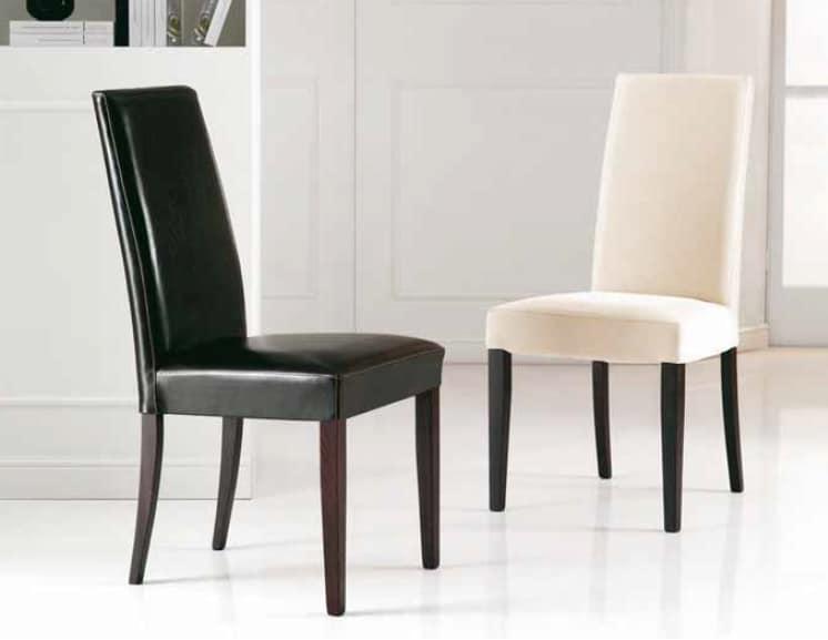 Antony, Stuffed chair with high backrest