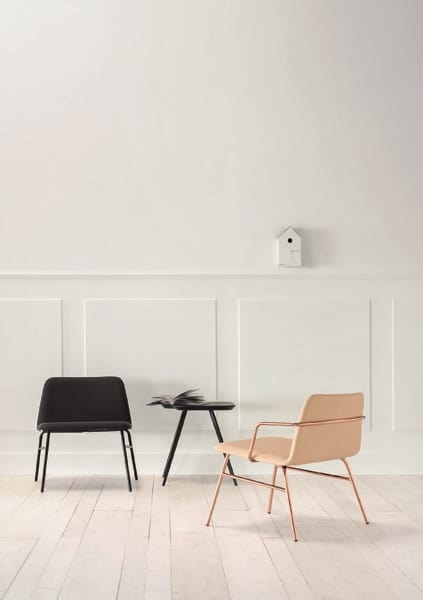 ART. 0035-MET-TU-CB BARDOT, Upholstered lounge chair with armrests
