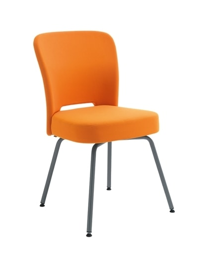 Blog, Upholstered chair, for collective spaces