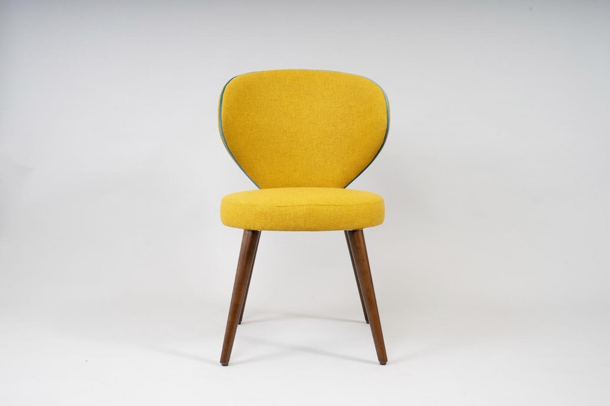 BS477A - Sedia, Chair with enveloping backrest