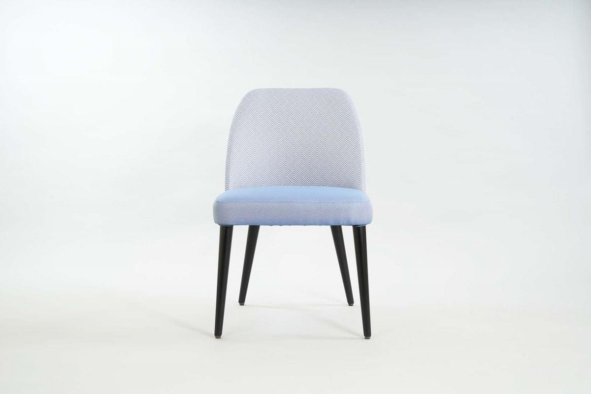 BS498S – Chair, Modern padded chair