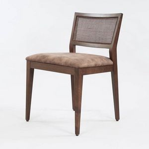 BS547S � Chair, Wooden chair with padded seat