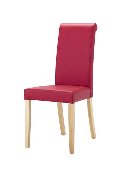 C02, Upholstered chair made of beech wood, to stays and restaurants