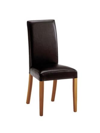 C03, Modern wood chair, padded, for Meeting rooms