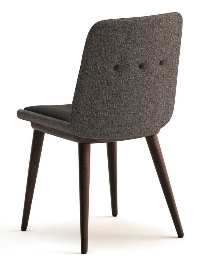 Cass-S, Upholstered chair for hotels and restaurants