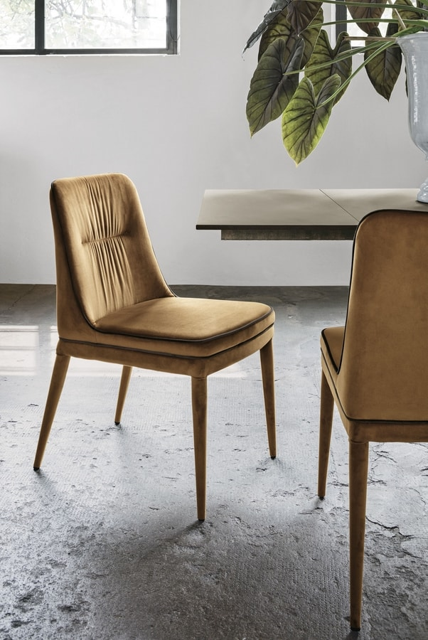 DALLAS SE616, Chair with two-tone upholstery