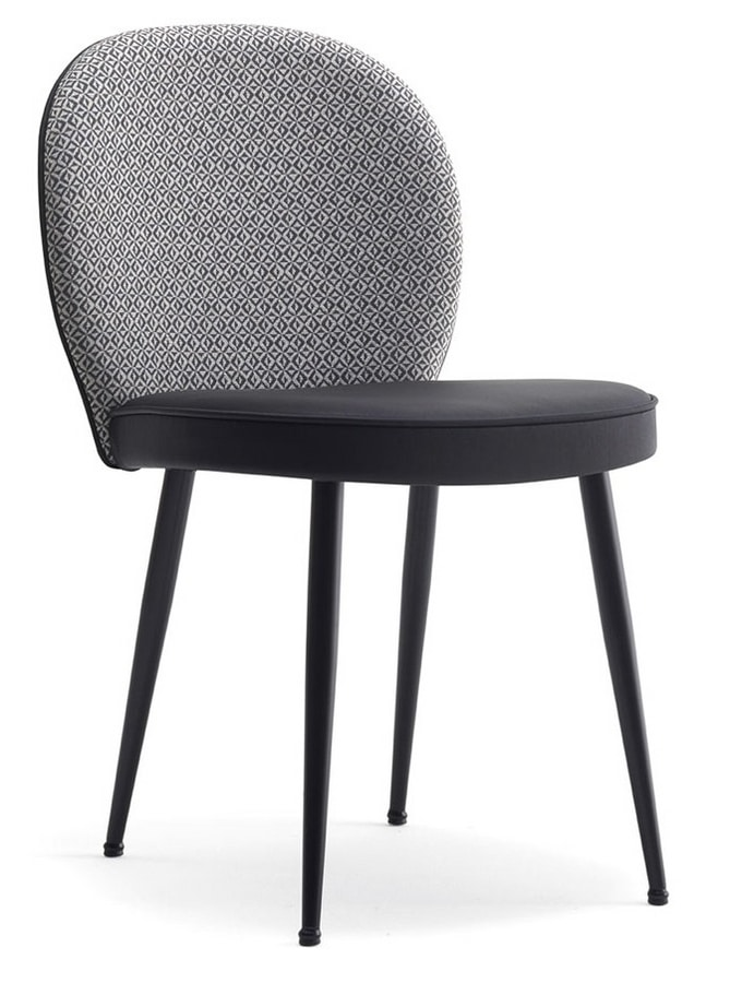 Dena-SM, Upholstered restaurant chair