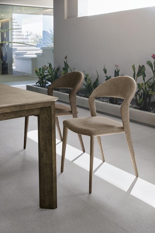 DENVER SE617, Fully upholstered chair