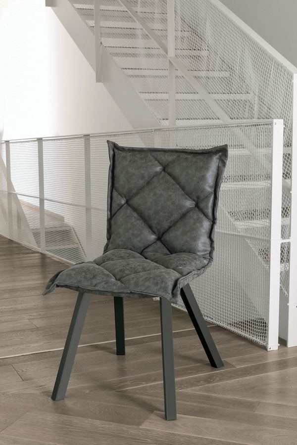 DIGIONE SE185, Upholstered modern chair