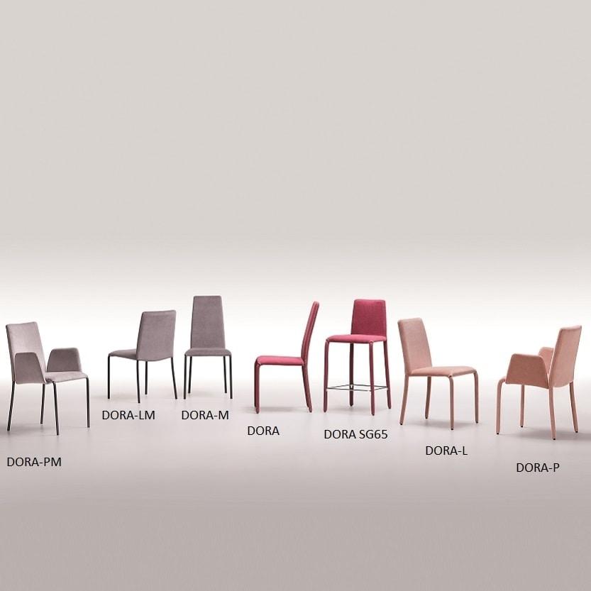 Dora-L, Fully upholstered chair