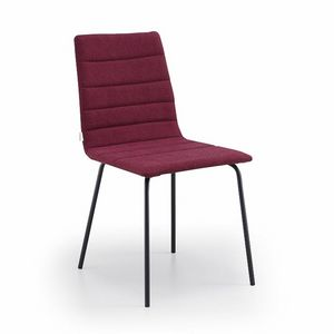 Firenze-M4, Upholstered metal chair