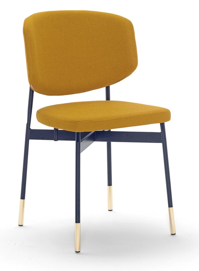 Foulard, Chair with a particular metal base