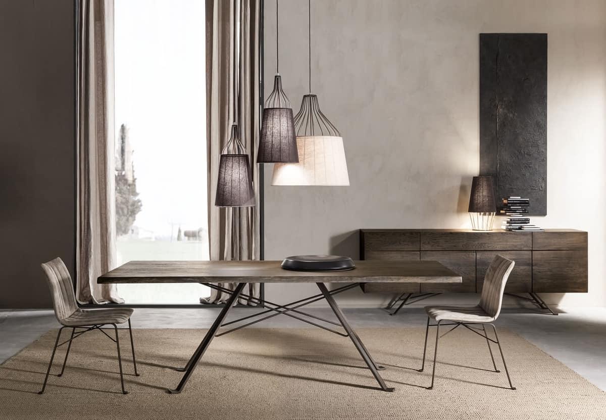 Ginevra chair, Chair with ergonomic seat