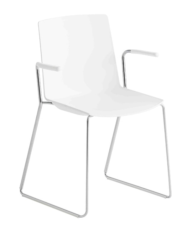 Jubel S-SS, Chair with sled base