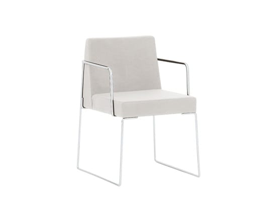 Kalida 602C, Chair with armrests, padded
