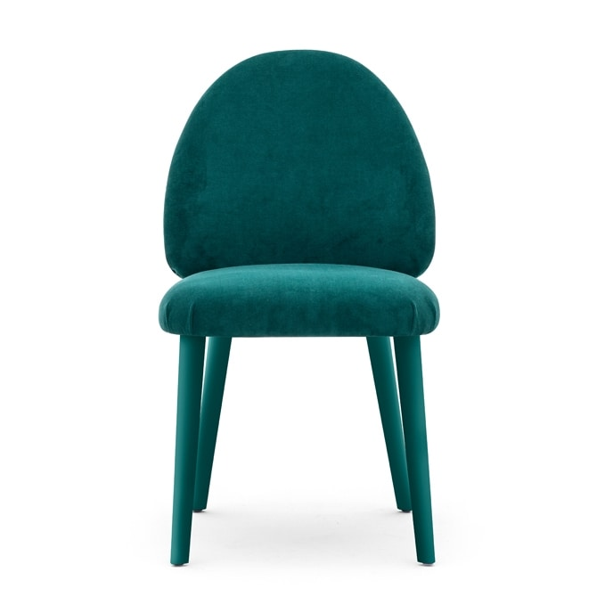Lily 04511, Chair with a modern and sophisticated design