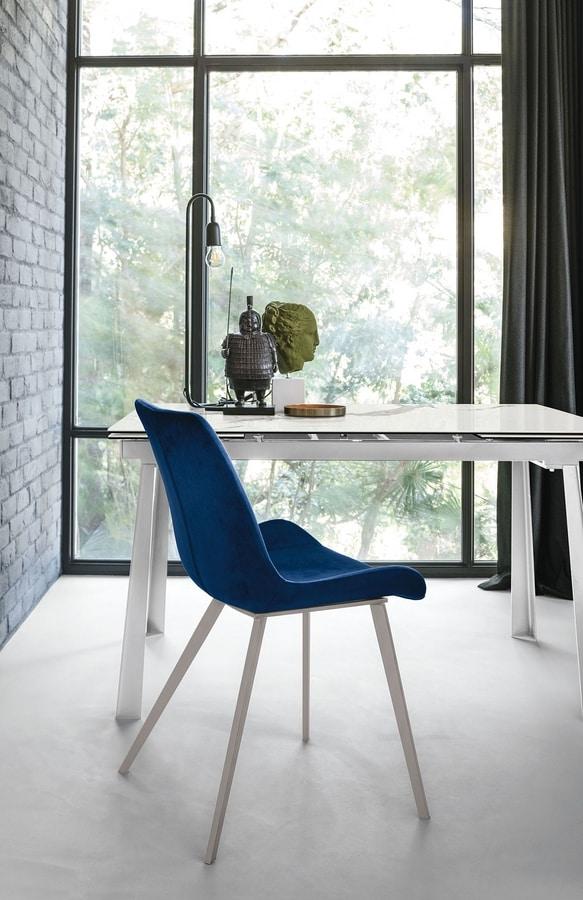 MALAGA SE195, Elegant padded chair