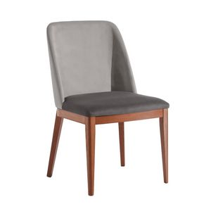Margot, Modern chair in padded wood