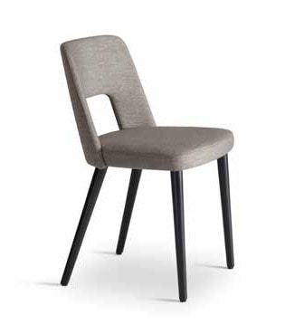 MARSIGLIA, Chair with a hole in the backrest
