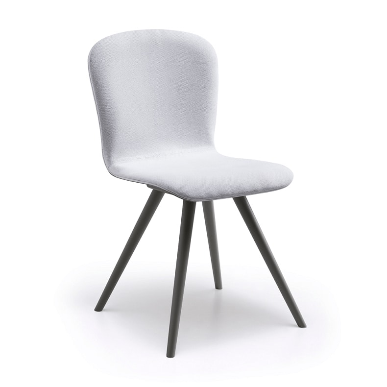 Maya, Modern chairs, with upholstered shell