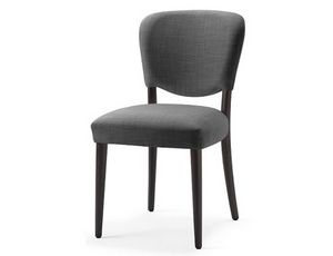 Mia-S, Chair with seat and back upholstered with fire retardant foam