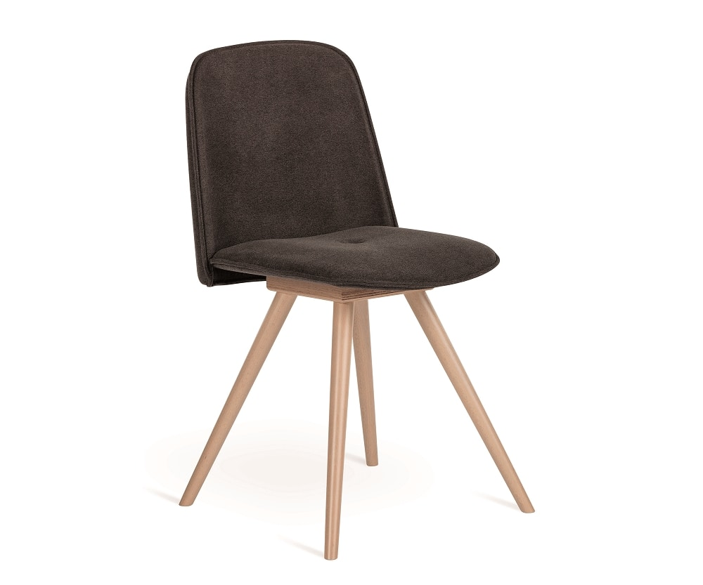 Molly-W, Chair with wooden legs