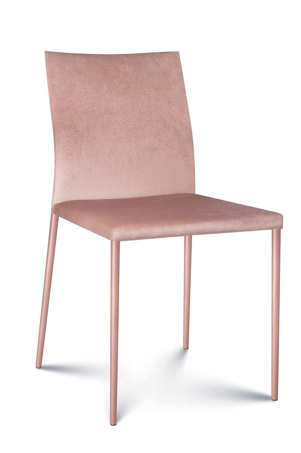 Plata fabric, Modern chair covered in fabric