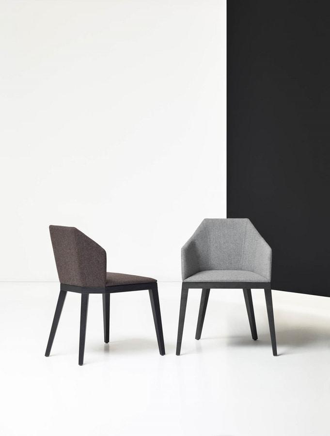 ROCK CHAIR 020 S, Geometric design chair
