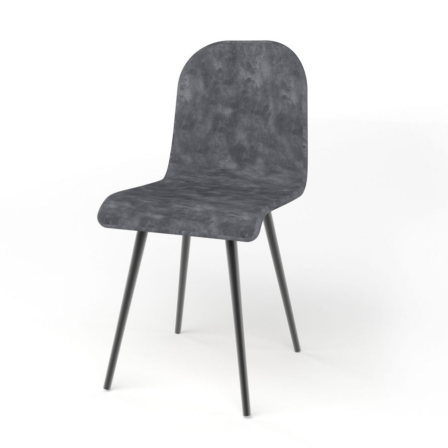 Sally, Upholstered chair, with seat in different variants