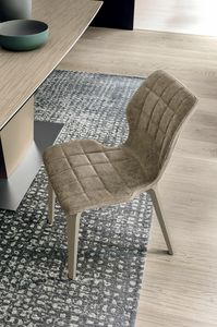 SANTIAGO SE189, Chair with Soft-Touch padding