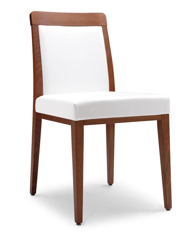 SE 49 / E, Modern chair with padded seat, for restaurants