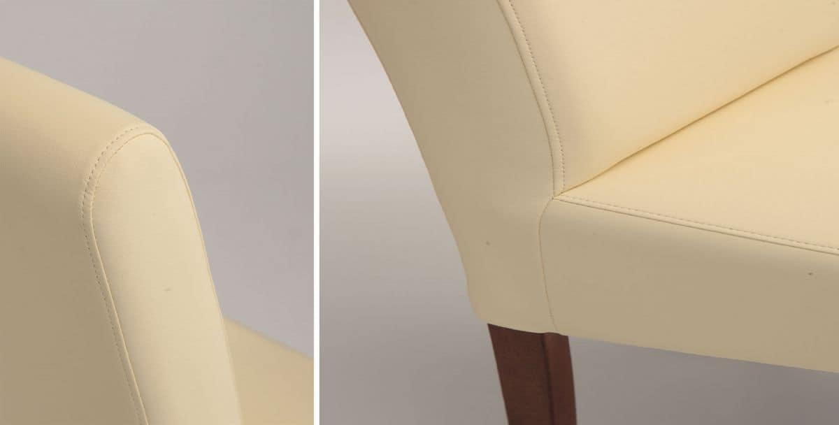 SE 1013, Modern upholstered chair ideal for dining room