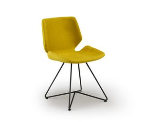 Meg-X, Chair with metal base