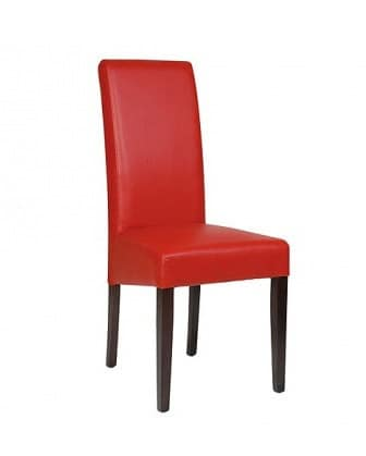 Tamara, Soft chair with high back, for contract use