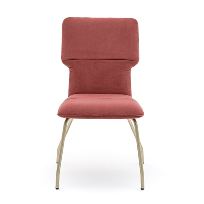 Twiggy 04112, Fireproof chair with metal frame