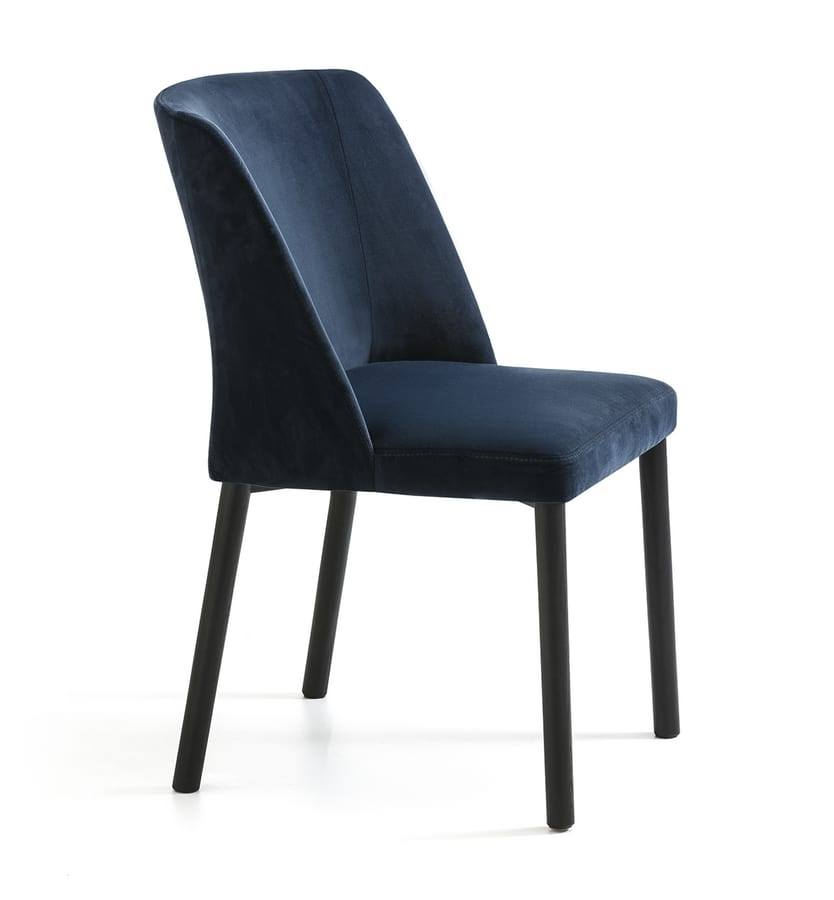Virginia XL 4WL, Comfortable and soft modern chair