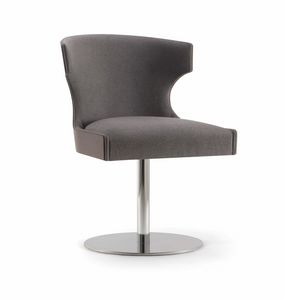 XIE SIDE CHAIR 053 S F, Chair with disc base