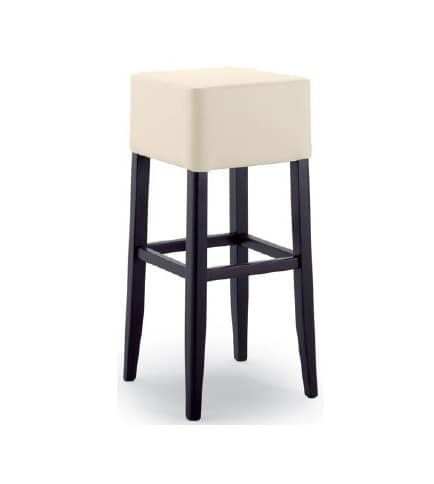 299, Stool with upholstered seat, without backrest