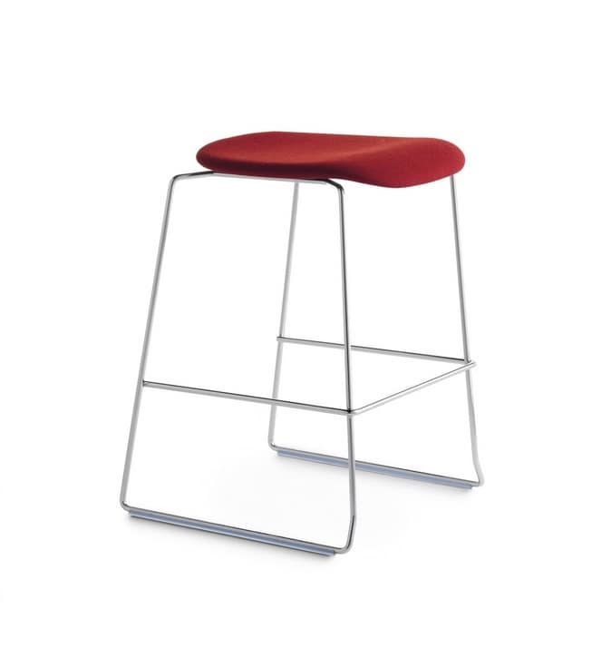 Bay 65 SS/SU, Stackable stool without backrest