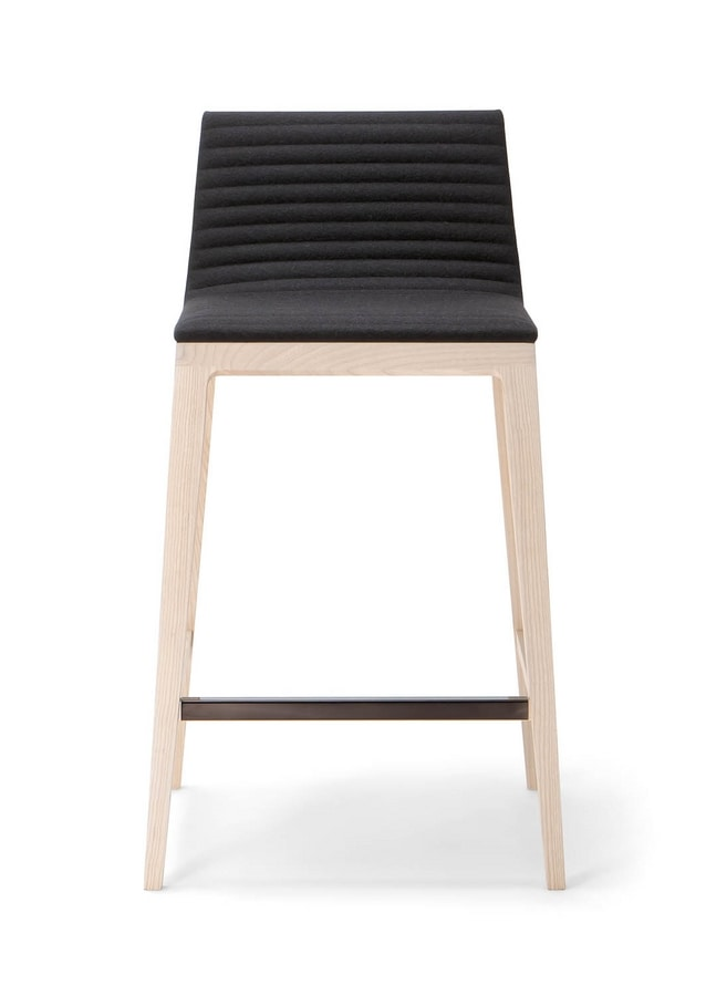 COCÒ BARSTOOL 015 SG, Stool with a clean design