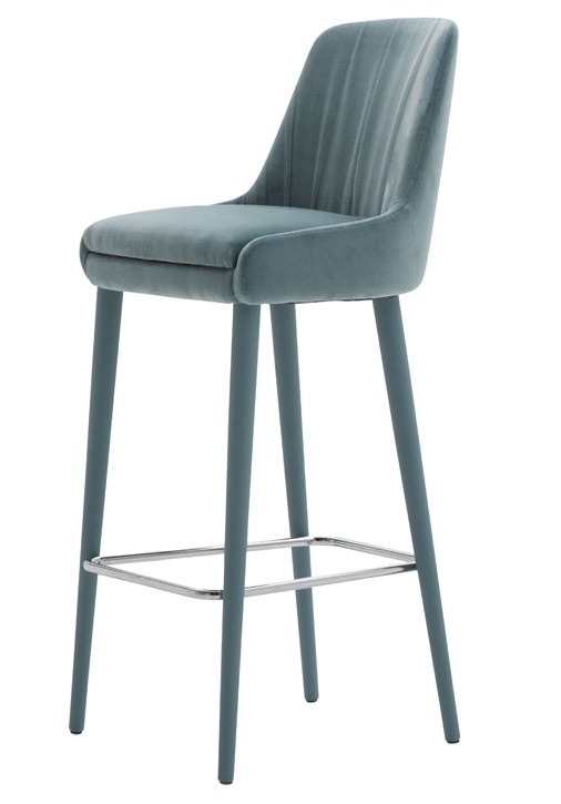 Danielle 03681, Fireproof stool with footrest
