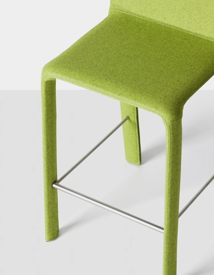 Joko stool, Stool completely covered in fabric