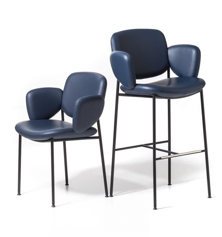 Macka ST, Comfortable and enveloping stool