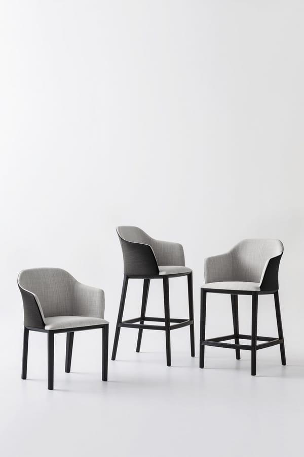 Manaa ST, Coated design stool