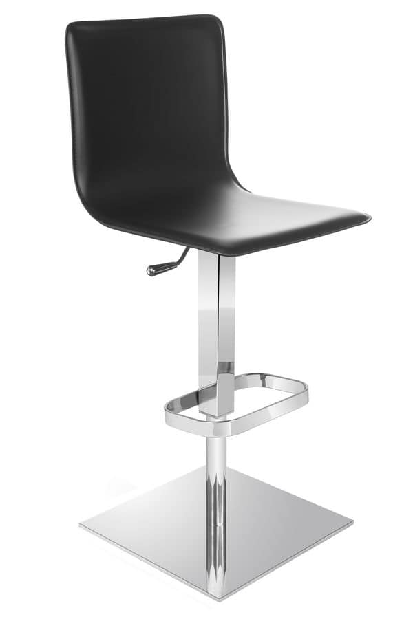 Riese stool, Stool with adjustable height for home