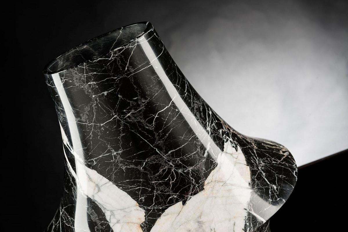 Eccentrico Small, Decorative marble vase